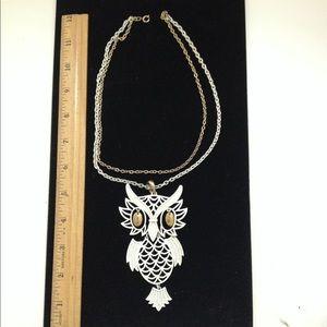 Vintage owl necklace FREE!!!